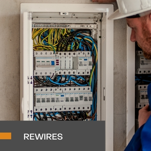 REWIRES & NEW BUILD INSTALLATIONS